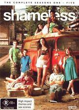 SHAMELESS (USA) - COMPLETE SEASON 1 2 3 4 5 box set  - DVD & UK Compatible