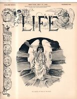 1899 Life May 18 - Georgia mob burns a negro;Mermaid; four-in-hand;Alger is home