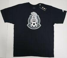 Mens Adidas Seleccion Nacional De Mexico Black Soccer T Shirt XL