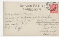 Mr C N Foster Post Office Savings Bank Blythe Road West Kensington 1923 300a