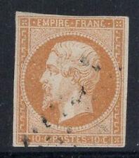 Francia 1860 Yv. 13B Usato 60% 10 C, Luigi Napoleone III