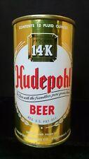 Hudepohl Beer - Late 1950'S 12Oz Flat Top Can - Cincinnati - Very Clean