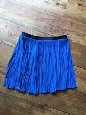 BNWT Ralph Lauren Polo Age 16 Pleated Skirt Hydro Blue Stunning