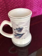 Barbados Ceramic Beer Stein Flying Fish Decorative Design