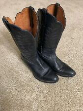 ARIAT Women's Heritage Black Leather Western Cowboy Boots SIZE 7 B $150 MSRP