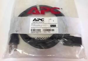 APC 0421-7RA 7FT NEMA 5-15P To Right Angle IEC C13 Connector 10A/125V SVT UL