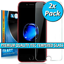 For iPhone SE 2 2020 Screen Protector Tempered Glass Genuine Gorilla Twin Pack