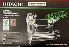 New Hitachi Nt50A5 18 gage Brad Nailer New Professional Model nail gun