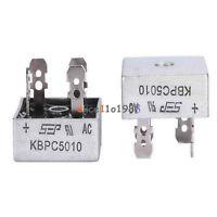 50A 1000V Metal Case Single Phases Diode Bridge Rectifier KBPC5010 AL