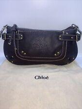 Authentic Chloe Brown Crossbody bag