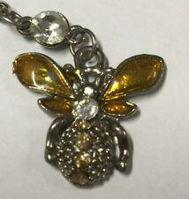 Farfalla Ciondolo Portachiavi in metallo accessorio cellulare con gancio
