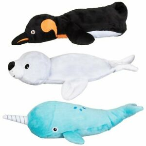 Cooling Pet Pillow Dog Cooler Penguin Seal Narwhal Soft Toy Freeze Gel Pack