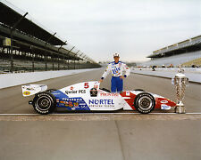 ARIE LUYENDYK 1997 INDY 500 WINNER AUTO RACING 8X10 PHOTO