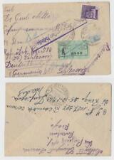 WWII: Italy 1944 R-cover from RSI territory to a POW in Germany