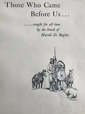 """VINTAGE-SIGNED J. Evetts Haley """"Those Who Came Before Us"""" 1955 Harold D. Bugbee"""