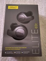 NEW - Jabra Elite 65t BLACK Alexa Enabled True Wireless Earbuds w/ CHARGING CASE
