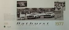 Moffat/Bond 'Bathurst Form Finish 77'TRUE OFFICIAL SIGN