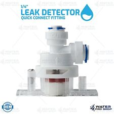 Leak Shutoff Valve Quick Connect Fitting Parts for Water Filters RO Systems 1/4