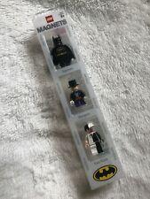 2006 DC Comics Lego Magnets 4493780 Batman, Penguin, Two Face Minifigures