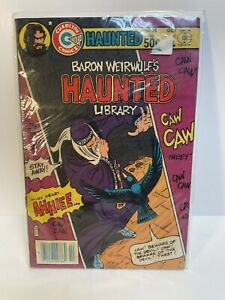 Haunted Library #58  Charlton Comics 1981