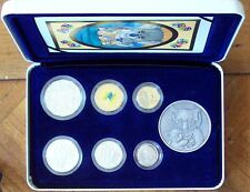 AUSTRALIAN 2003 BABY  PROOF  SET- 6  COINS & MEDALLION