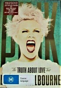 P!NK PINK The Truth About Love Tour DVD MUSIC Live From MELBOURNE BRAND NEW R0
