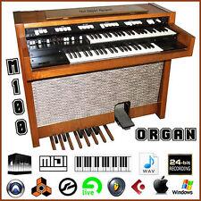 Hammond M100 M 100 organ reggae jazz blues reason kontakt 8 logic pro x  sample