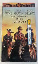 Rio Bravo VHS John Wayne Dean Martin Ricky Nelson Warner Brothers Brand New