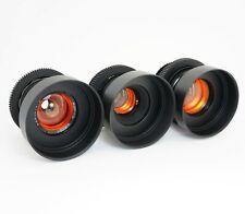 Anamorphic Flare & Bokeh Amber Set 37 58 85 Cine Lenses Canon EF Sony E Arri PL