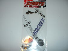 "I LOVE HOCKEY MAGNET FOR CAR OR ANYWHERE NEW 8"" LONG"