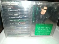 New ListingSealed New Ultimate Matrix Collection Dvd, 04 10 Disc Free Ship Giant Neo Bust