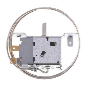 2 Pin WPF-20 Terminals Freezer Refrigerator Thermostat with Metal CordC*ac