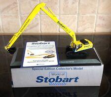 Atlas Editions - Komatsu PC340 Excavator Stobart Rail. World Of Stobart
