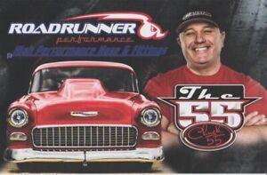 2019 Chuck Parker Roadrunner Performance '55 Chevy PRI Street Outlaws Hero Card