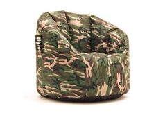 Comfortable Camo Dorm Large Bean Bag Chair for Gaming Adults and Kids