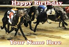 Greyhound Racing Birthday Card PIDI56  A5 Personalised Card