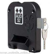 5 Pack $2 COIN RETURN LOCK & KEY - LOWE & FLETCHER ECONOMY COIN LOCK 2786512A