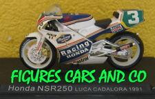 1/24  MOTO GP N° 24 SERIE 1 HONDA NSR 250 1991 LUCA CADALORA #3