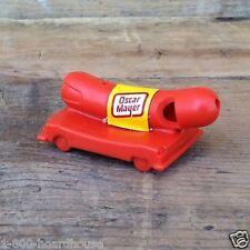 Original OSCAR MAYER Hot Dog Frankfuter Plastic Weenie Whistle Car TOY 1970s