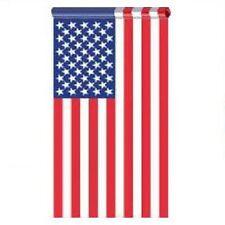 Us 2.5 x 4 American Flag Pole Hem Banner Sleeve Pocket