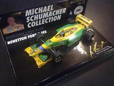 Benetton Ford B193 1993 1:64 #5 M. Schumacher (Schumacher Coll. no: 12)