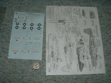SuperScale decals 1/72 72-686 Snoot's Sniper Hoo Flung Dung City Paris   D90