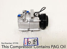 Remanufactured AC Compressor Fits: 2003-2006 KIA SORENTO V6 W/ Warranty