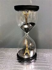 Large Eiffel Tower Hourglass Sand Timer Home Decorative Ornament Unusual Gift