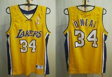 5+/5 Los Angeles Lakers #34 O'Neal Size M Champion jersey shirt Basketball