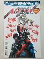 SUPERMAN ACTION COMICS #980 (2017) DC COMICS REBIRTH CYBORG! HARLEY QUINN!