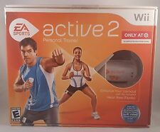 EA Sports Wii Nintendo Bundle Personal trainer Heart Rate Monitor workout