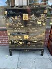 George Zee Chinoiserie Cabinet on Stand