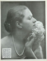 PUBLICITÉ DE PRESSE 1926 SAVON CADUM - Mlle LUCIENNE DELAHAYE DE L'ALHAMBRA