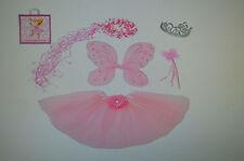 Sparkle Fairy Princess Costume Set PLUS GIFT BAG (Pink)